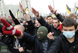 Russian March held in Moscow