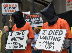 US-GUANTANAMO-PROTESTS
