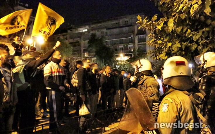 На площади Виктория в Афинах